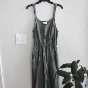 Green Jumpsuit by Universal Thread - Large